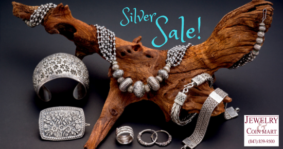 Silver Sale at Jewelry Mart